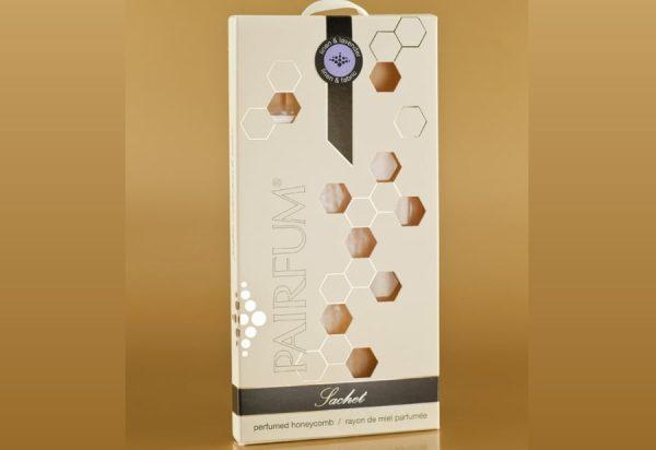 PAIRFUM natural fragrance wardrobe sachet honeycomb beeswax
