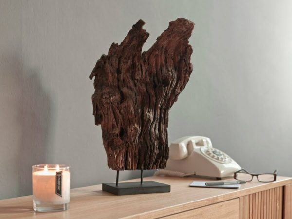 Pairfum Natural Teak Driftwood Diffuser Hallway Telephone Perfumed Candle
