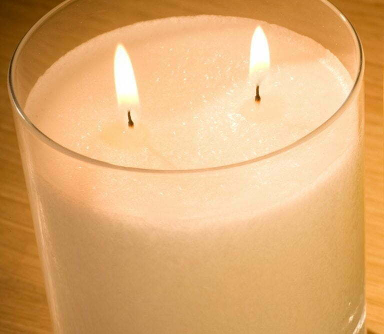Natural Snow Crystal Candle multi wick luxury scented candles