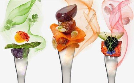 multi sensorial and fragrant food