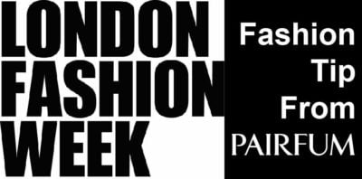How To Fragrance Clothes during the London Fashion Week