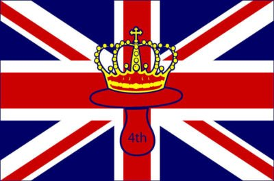 Crowned Pacifier buy PAIRFUM for the new Royal Baby Girl, the 4th in line to the throne (made in britain)