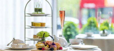 Afternoon Tea Week Scents of Summer Cake Stand InterContinental London Perfume Home Fragrance