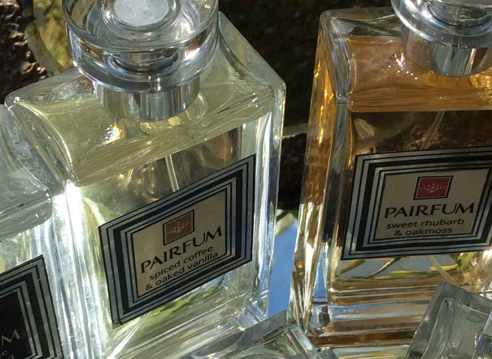 PAIRFUM boutique couture perfume Niche eau de parfum private collection home fragrance skin care sweet rhubarb oakmoss