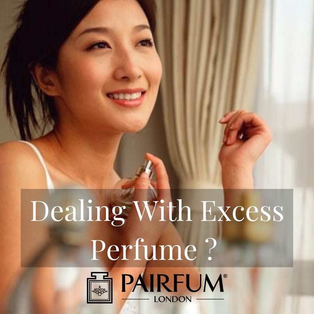 Applying Too Much Perfume Before Going Out
