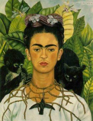Frida Kahlo Self Portrait Womens International Day