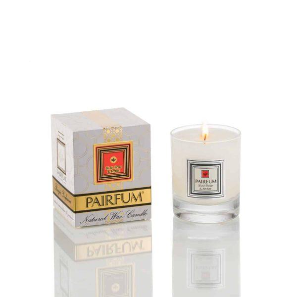 Pairfum Natural Wax Candle Pure Blush Rose Amber