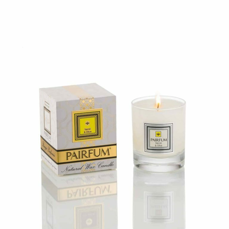 Pairfum Natural Wax Candle Pure Neroli Olive