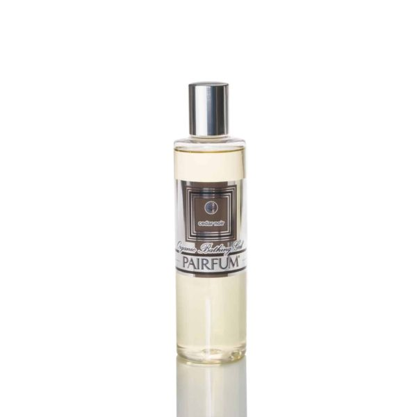 Pairfum Organic Bathing Gel Bath Oil Cedar Noir