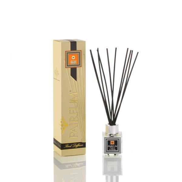 Pairfum Reed Diffuser Cube Petite Signature Cognac Vanilla