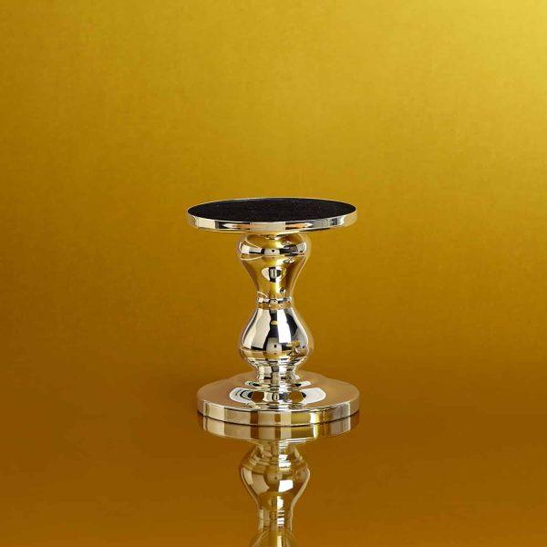 Pairfum Large Silver Pedestal Gold