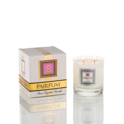 Pairfum Large Snow Crystal Candle Pure Pink Lavender