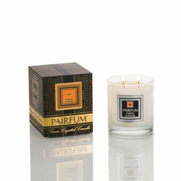 Pairfum Snow Crystal Candle Classic Noir Cognac Vanilla