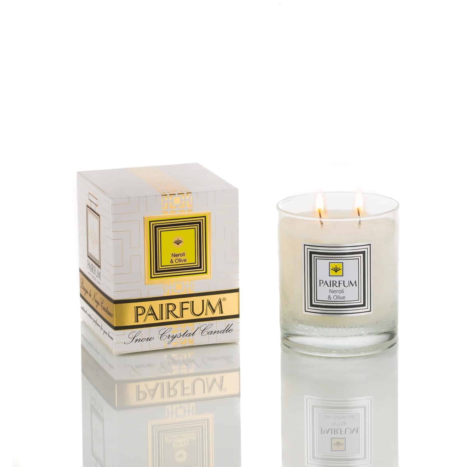 Pairfum Snow Crystal Candle Classic Pure Neroli Olive