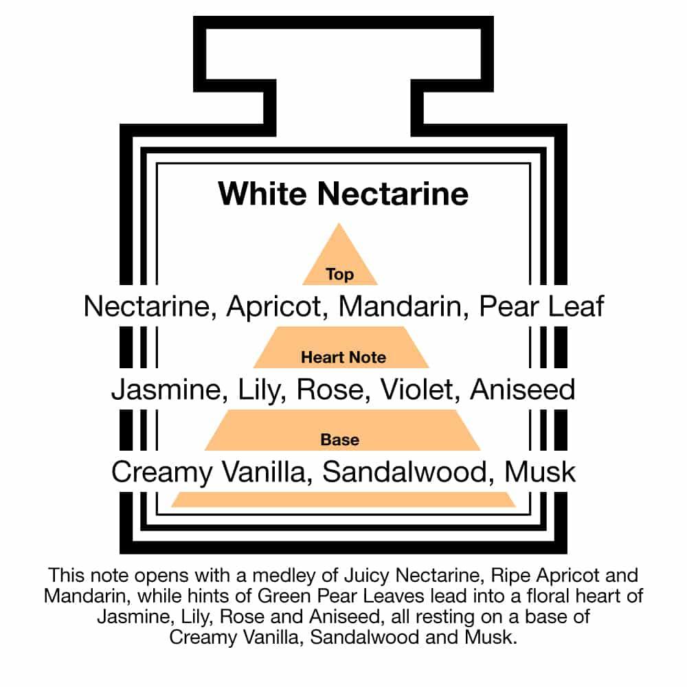 Fragrance Description White Nectarine Apricot Mandarin Pear Aniseed