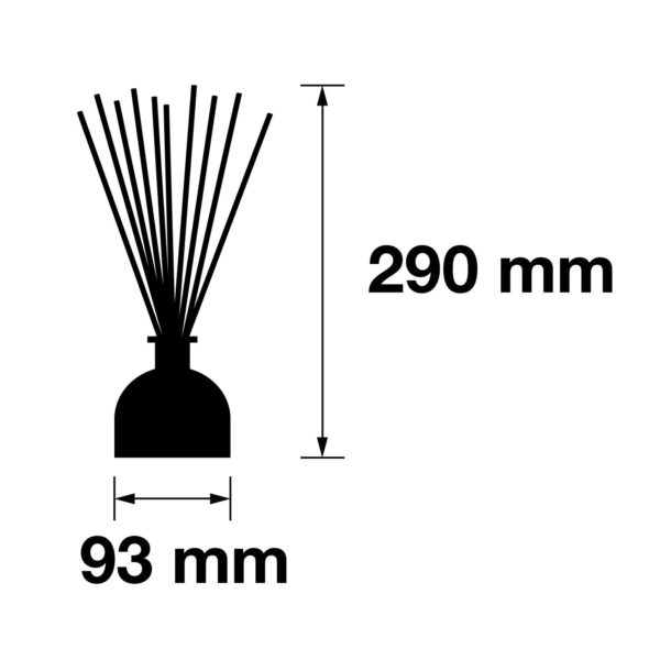Pairfum Infographic Reed Diffuser 250 Ml Size