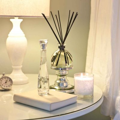 Bedroom Reed Diffuser Luxury Scented Candle Room Spray