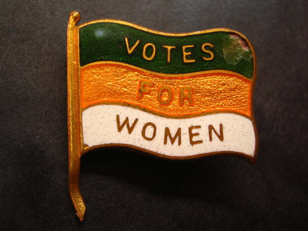 Votes For Women Lapel Pin (Nancy)