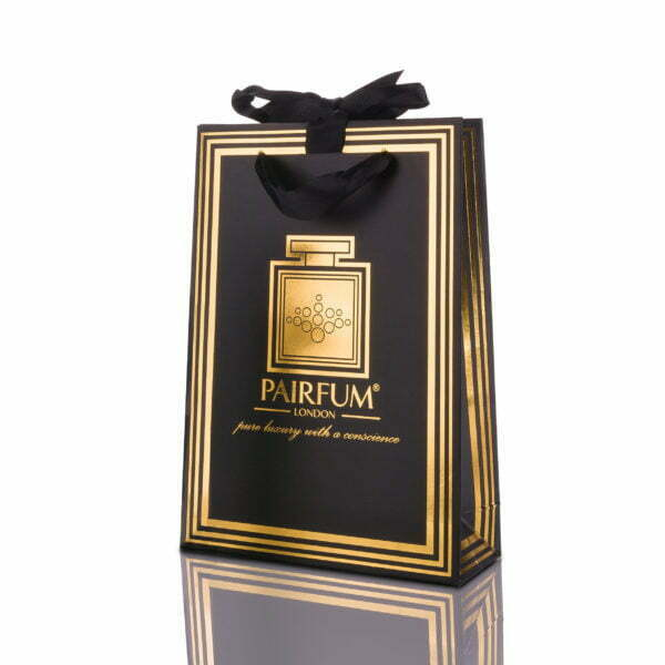Pairfum Gold Black Luxury Carrier Bag Gift Small