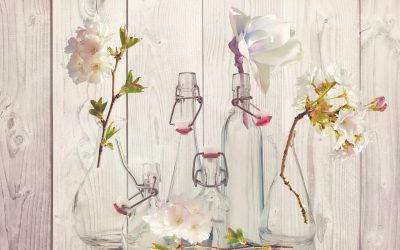 Bottles Flowers 1