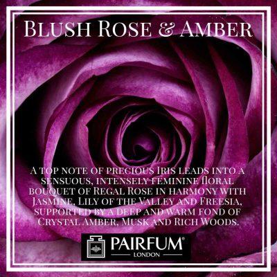 Blush Rose Amber Pairfum London Crystal Deep