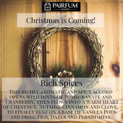 Christmas Coming Pairfum Fragrance Wreath Pine @JohnLewis