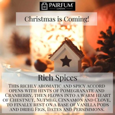 Christmas Coming Pairfum London Fragrance @JohnLewis