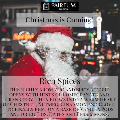 Christmas Coming Pairfum London Fragrance Santa
