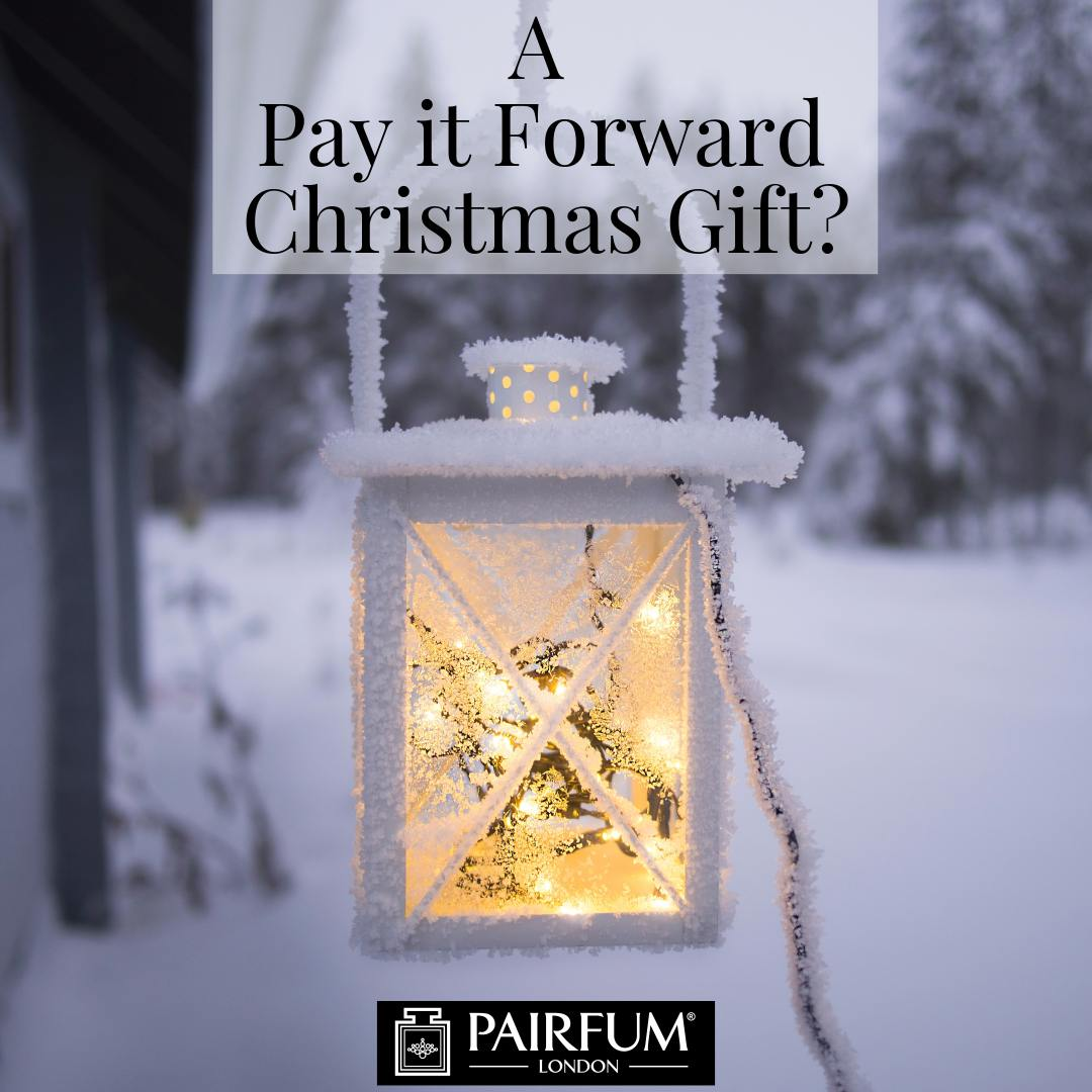 Christmas Pay It Forward Gift Pairfum Lantern