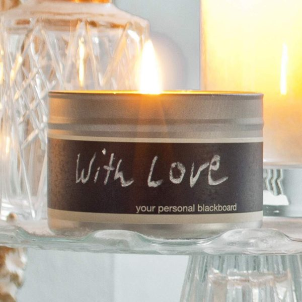 Lifestyle Fragranced Soy Wax Candle Love Message