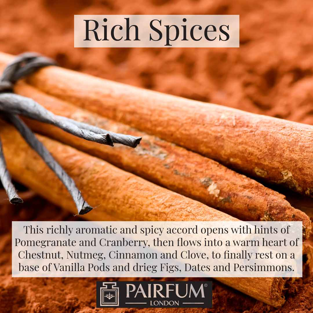 Pairfum London Rich Spices Cinnamon Sticks Ground