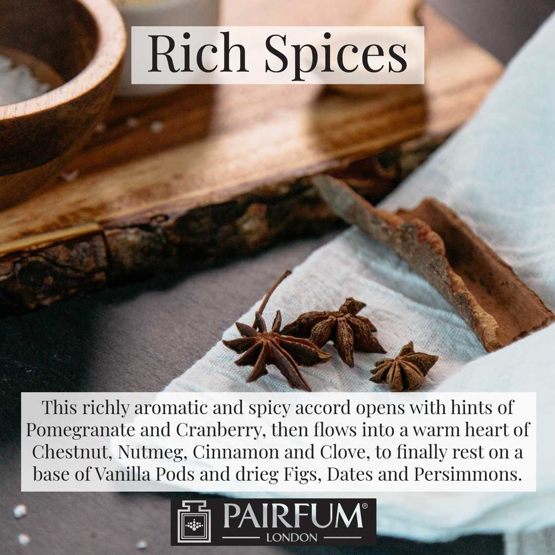 Pairfum London Rich Spices Clove Aniseed Kitchen