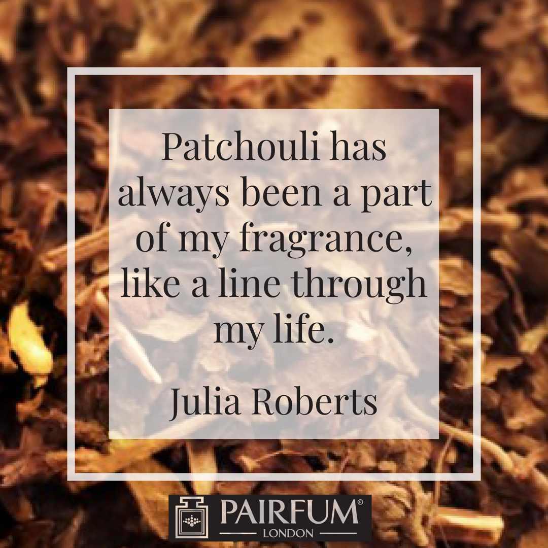 Perfume Paltchouli Thread Life Julia Roberts Wood