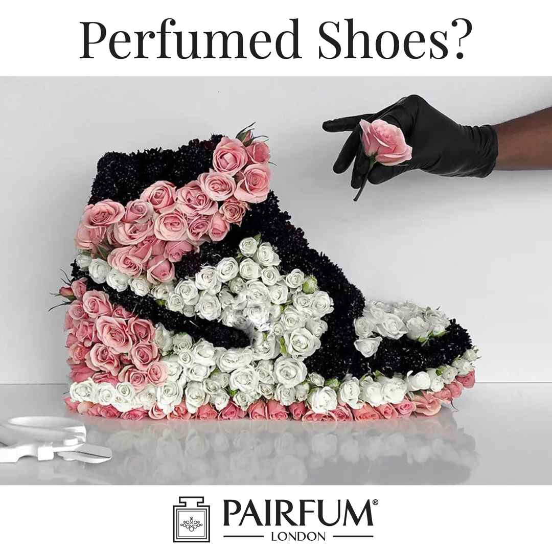 Perfumed Smelly Shoes Spray Flower Bloom Bouquet Fragrance Deodorise