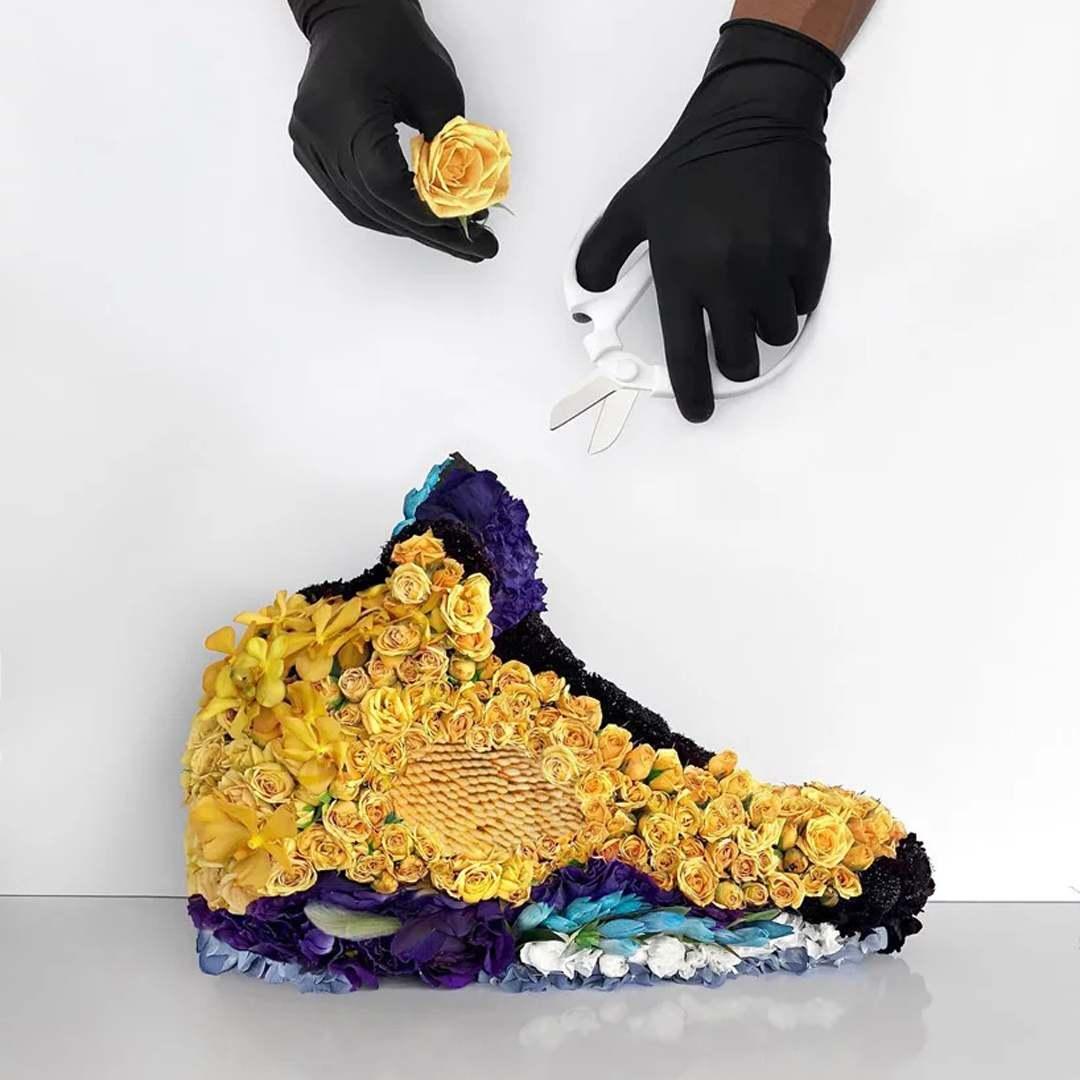 Sneaker Smelly Shoe Flower Bloom Bouquet Fragrance