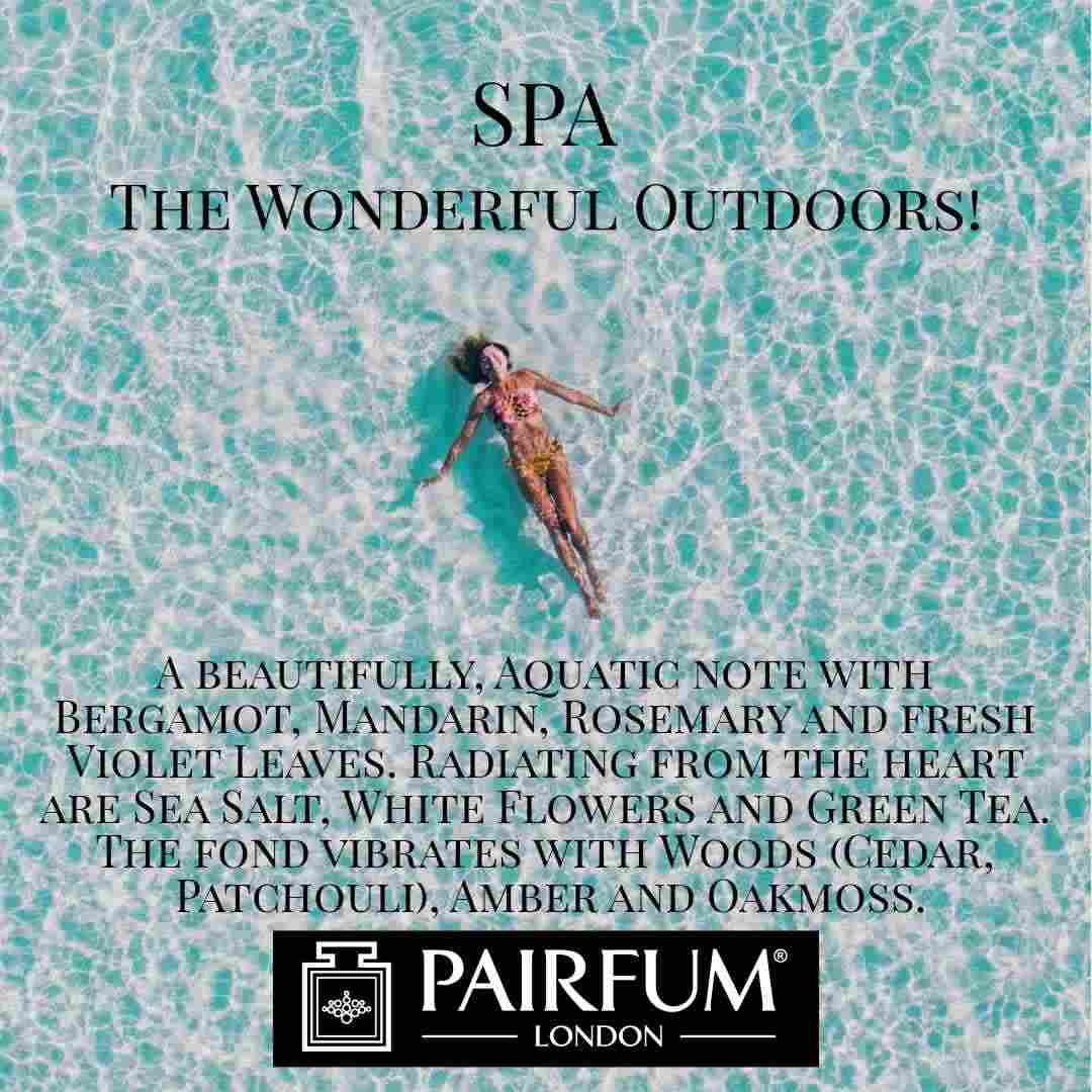 Vacation Spa Wonderful Outdoors Pairfum London