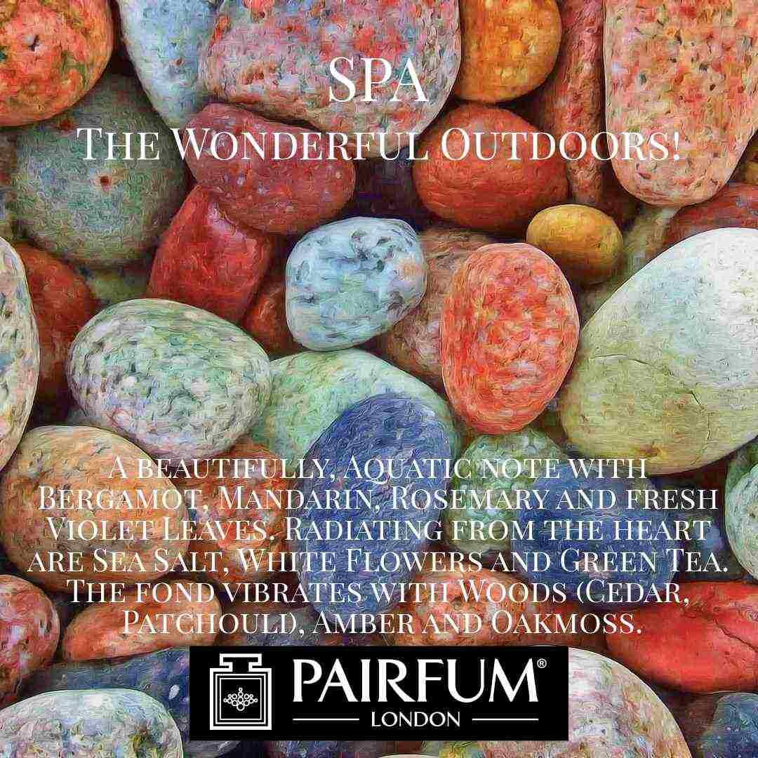 Spa Wonderful Outdoors Pairfum London 3