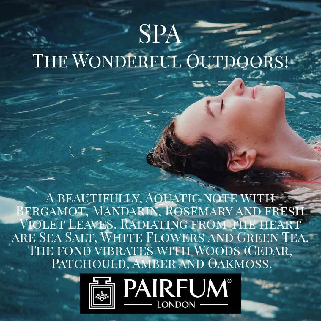 Spa Wonderful Outdoors Pairfum London 6