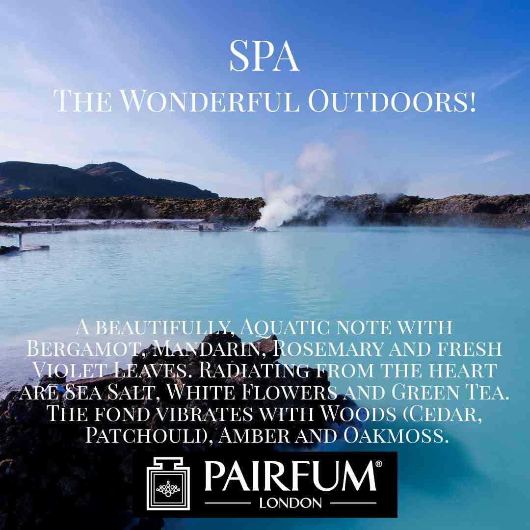 Spa Wonderful Outdoors Pairfum London Scent