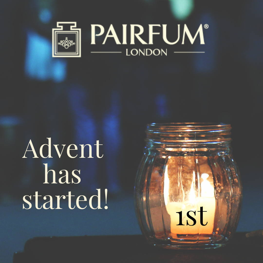 Advent Start Christmas Candle Light Glass