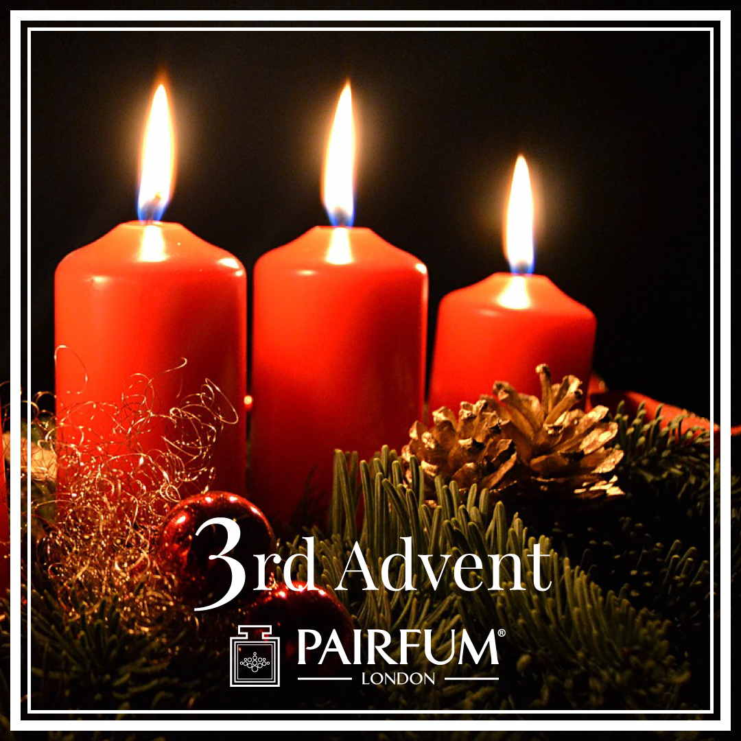 Christmas 3rd of Advent Calendar Candle Fragrance