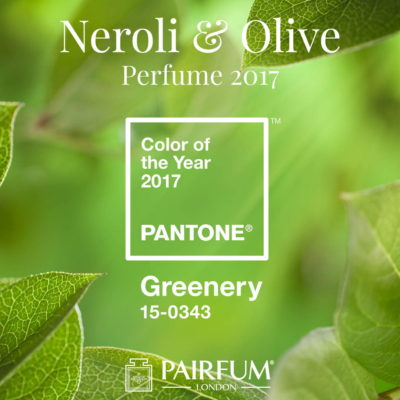 PANTONE Color Year 2017 Greenery Neroli Olive Perfume Pairfum