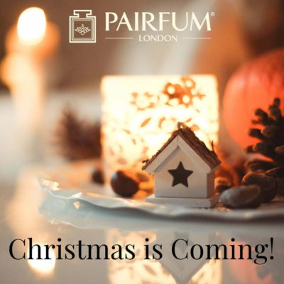 Pairfum London Fragrance Christmas Holidays Coming Scent Best