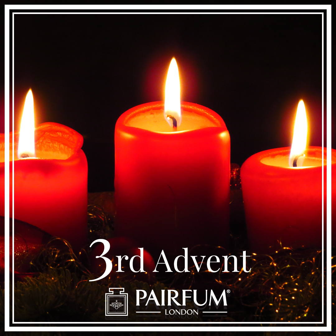 Perfume Christmas 3rd of Advent Calendar Candle