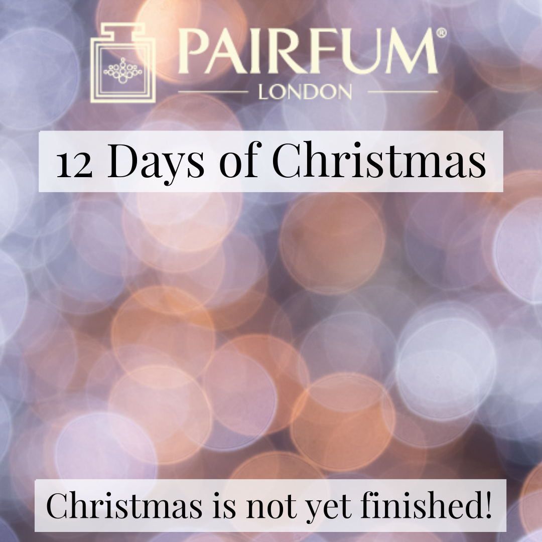 Christmas Is Not Yet Finished 12 Days