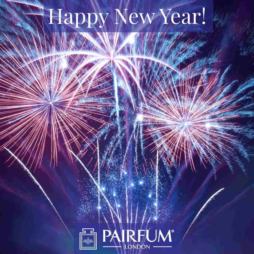 Happy New Year 2019 Pairfum London