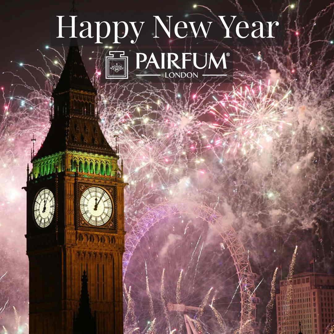 Happy New Year Pairfum London 2019