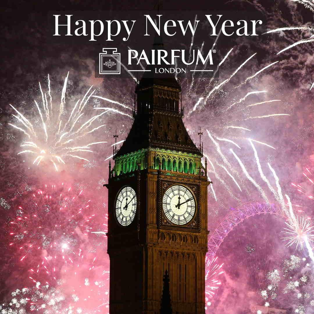 Pairfum London Happy New Year 2019