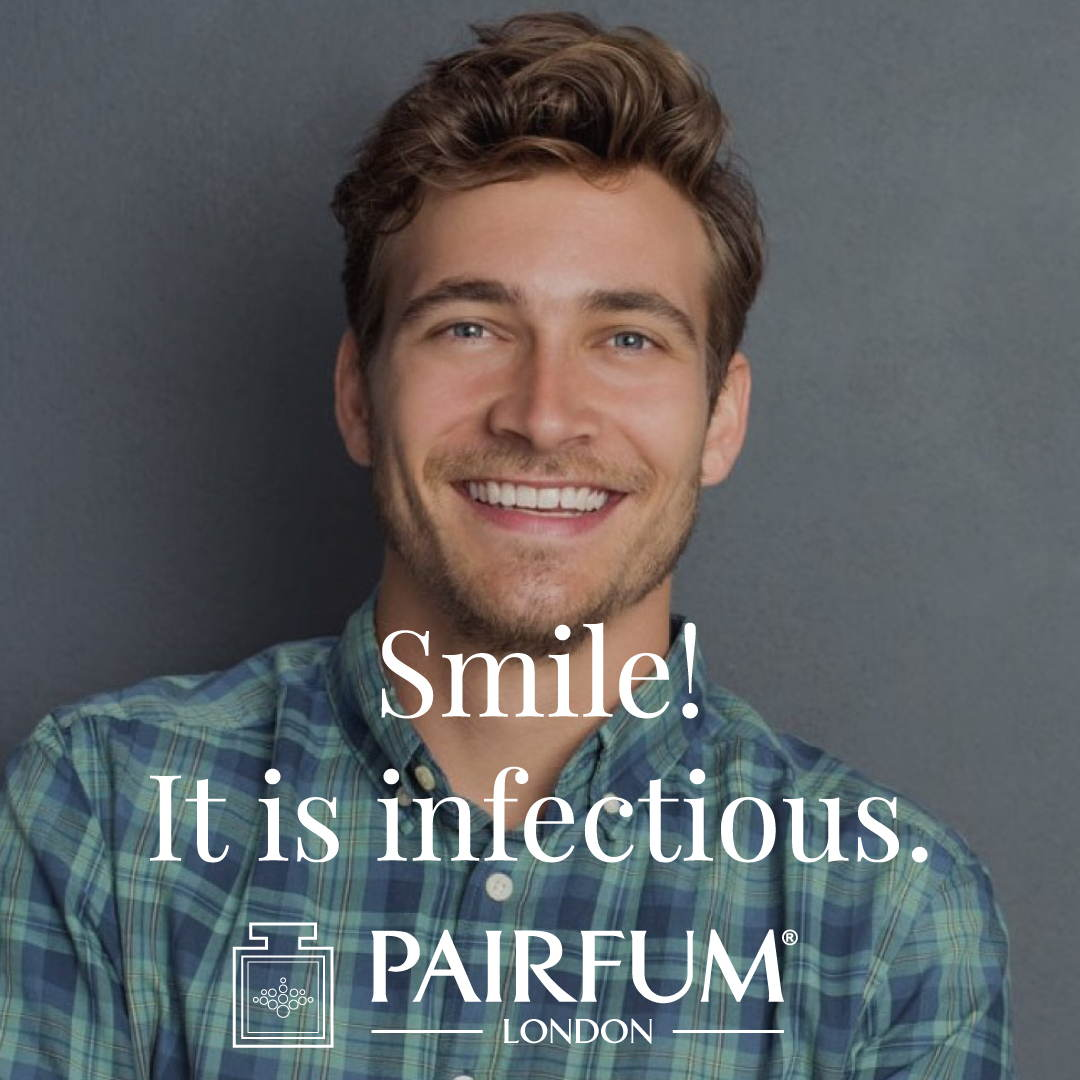 Health Tips Smile Infectious Perfume Happy Man