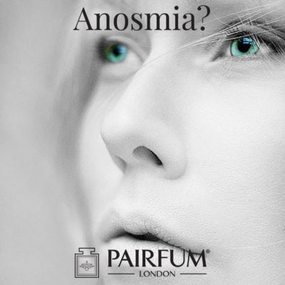 Anosmia Woman Nose Fragrance White